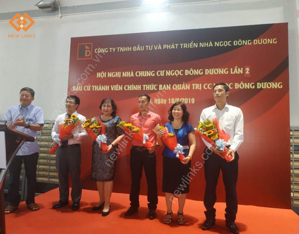Tổ chức Hội nghị Nhà chung cư Ngọc Đông Dương