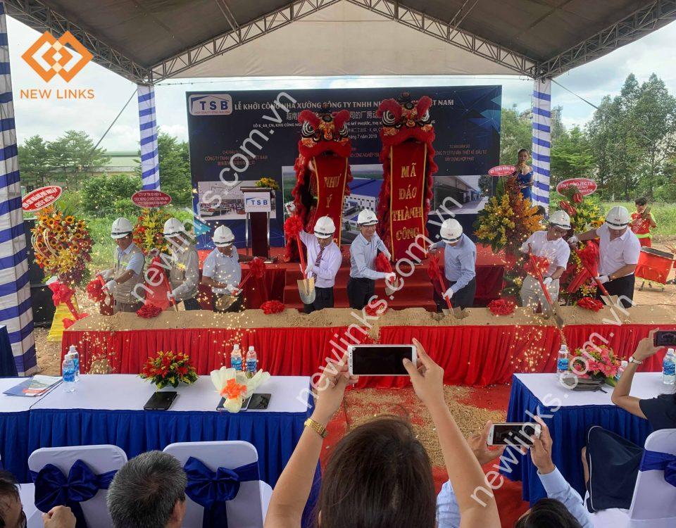 Lễ khởi công dự án TSB tại Bình Dương