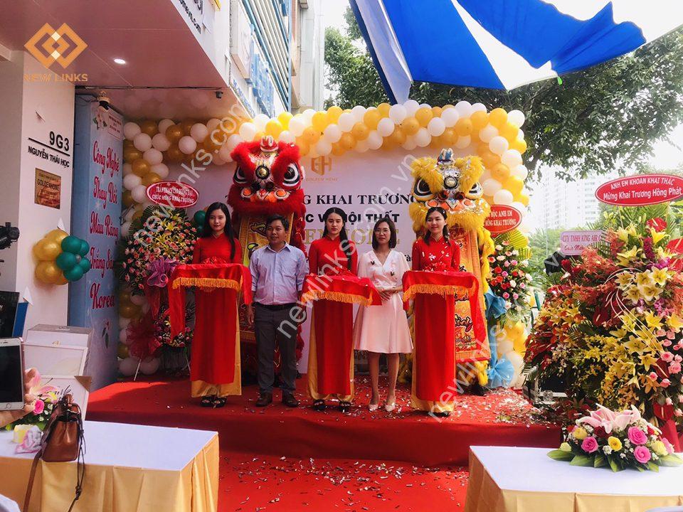 Tổ chức Lễ khai trương kiến trúc và nội thất Golden Home