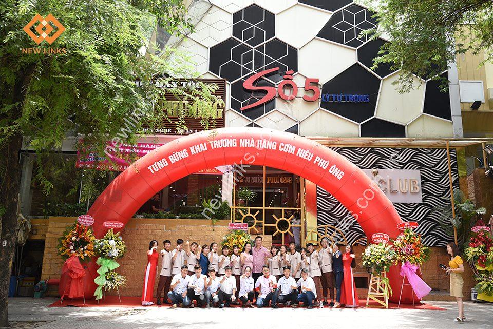 Tổ chức Lễ khai trương nhà hàng Cơm Niêu Phú Ông