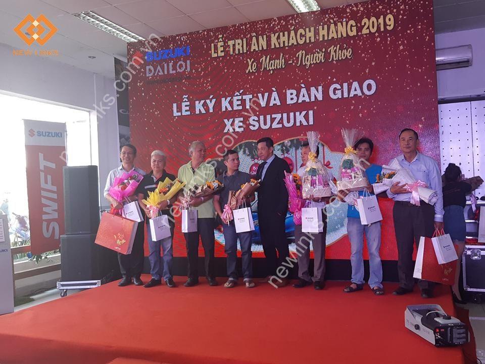 Tổ chức lễ tri ân khách hàng Suzuki Đại Lợi - 2019