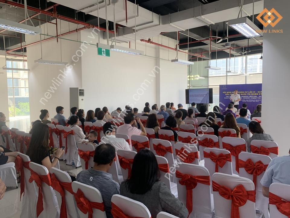 Tổ chức Hội nghị nhà chung cư Gateway Thảo Điền