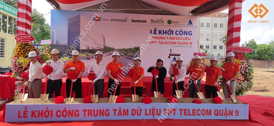 Tổ chức lễ khởi công Trung tâm dữ liệu FPT Telecom quận 9