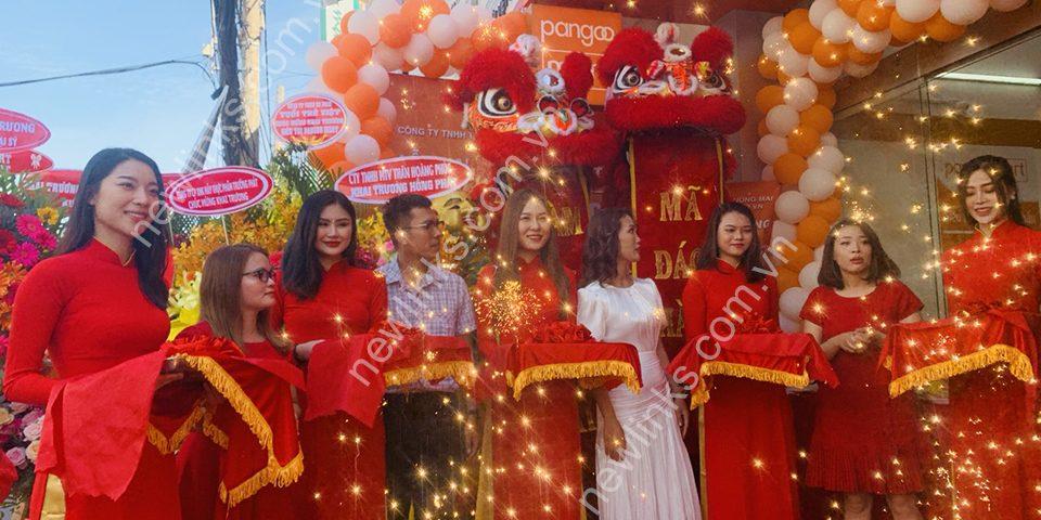 Tổ chức Lễ khai trương siêu thị Pangoo Mart