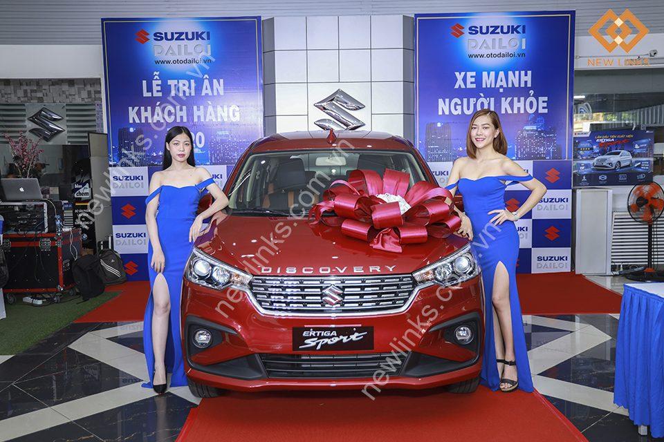 Tổ chức sự kiện Xe mạnh – Người khỏe của Suzuki Đại Lợi