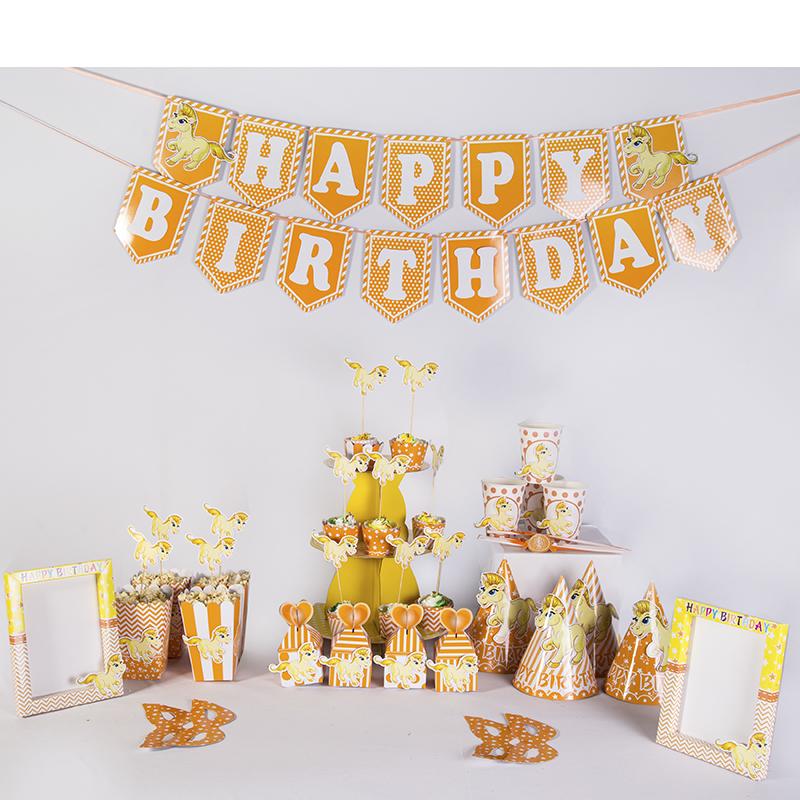 Phụ kiện trang trí sinh nhật – 12 con giáp – Tuổi Ngọ – Công ty TNHH Truyền Thông Kết Nối Mới